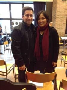作曲家Hector Parra 与女高音龚丽妮